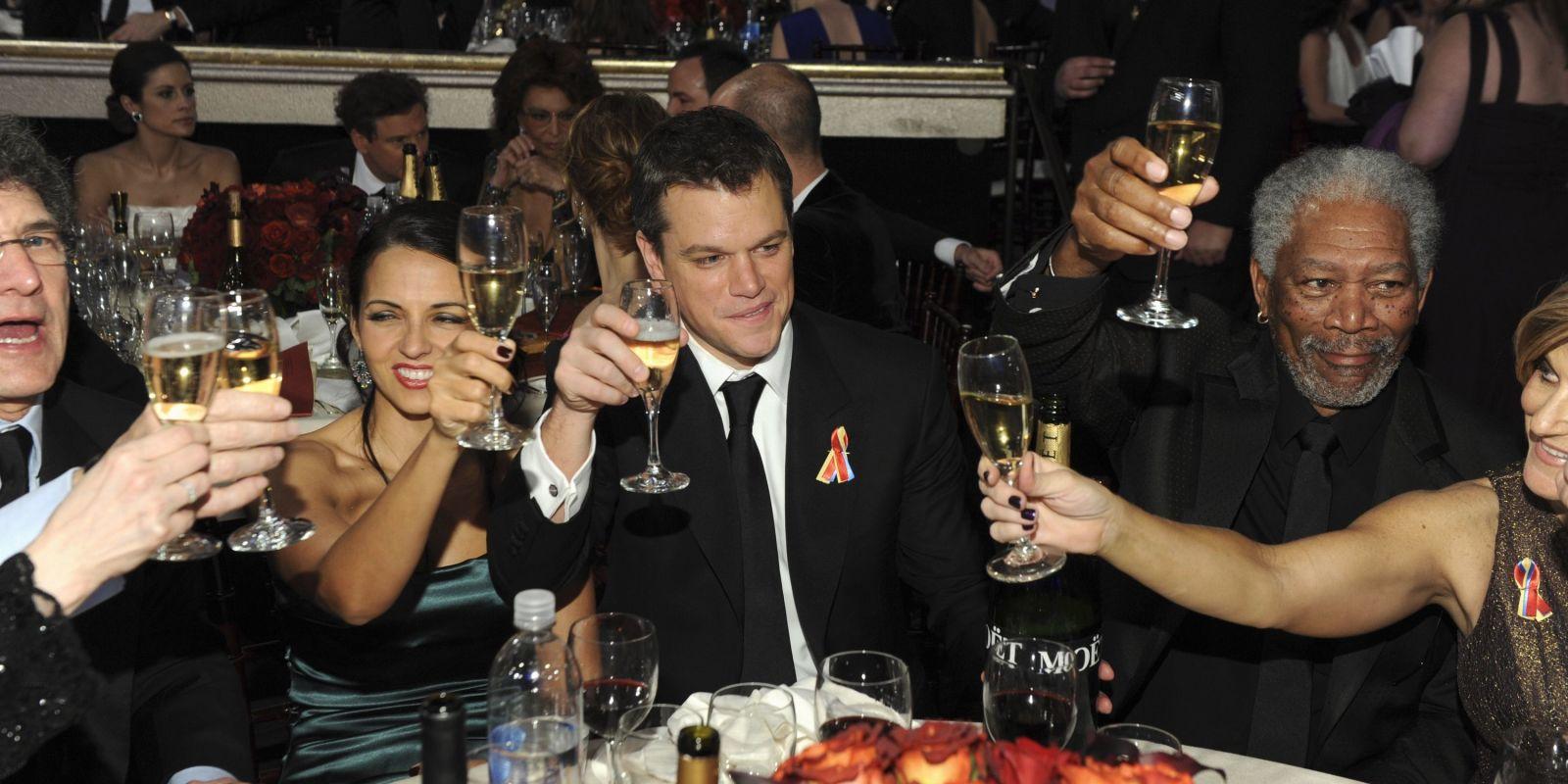 Drunk Celebrities At The Golden Globes Drunk Acceptance Speeches