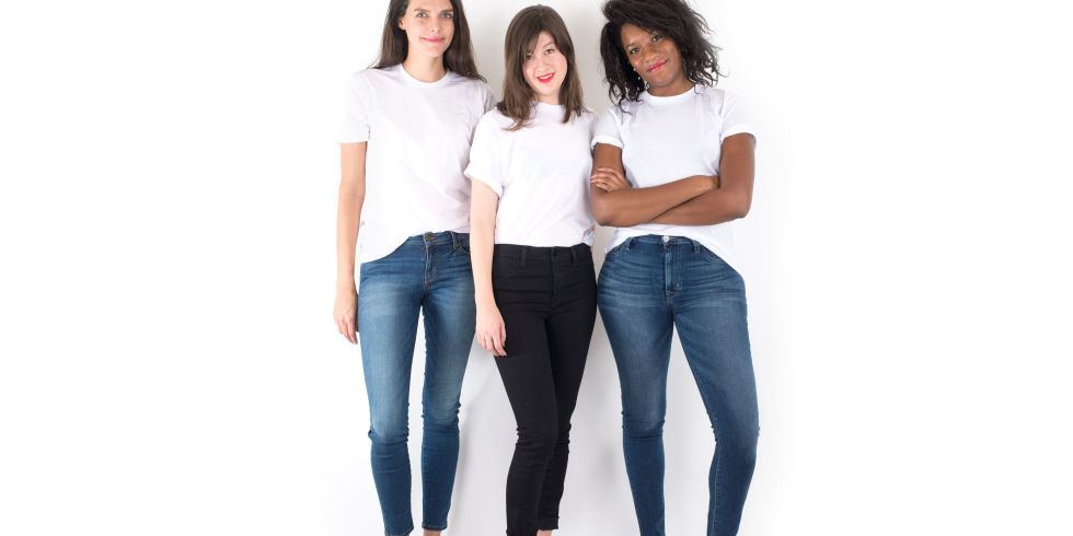 "3 Different Bodies in 5 Pairs of ""Perfect Fit"" Jeans - Trying On ..."