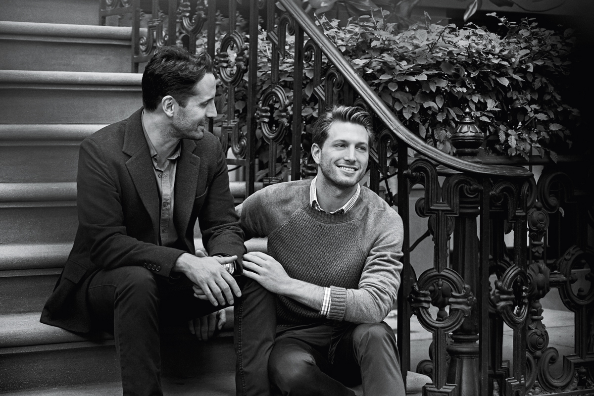 Wedding Gift Ideas For Older Gay Couple : Tiffany &,, Co Same-Sex Ad - Gay Couple Featured in Tiffany Campaign