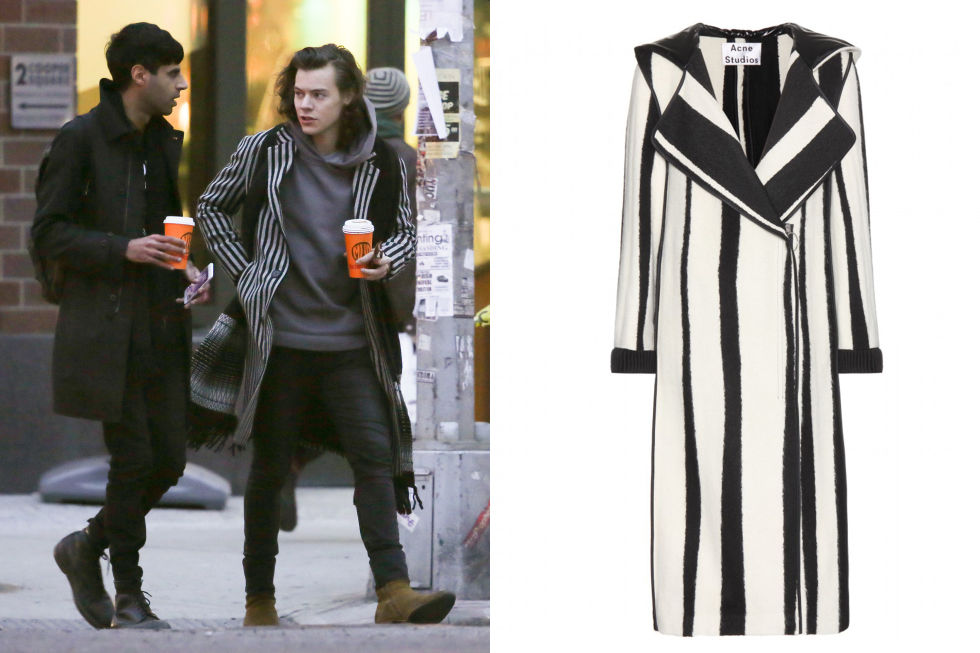 Your Complete Winter Coat Guide Inspired by Harry Styles