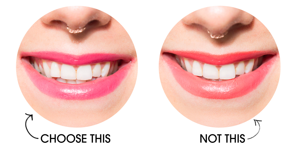 which lipstick shades make teeth look whiter - lipstick colors for