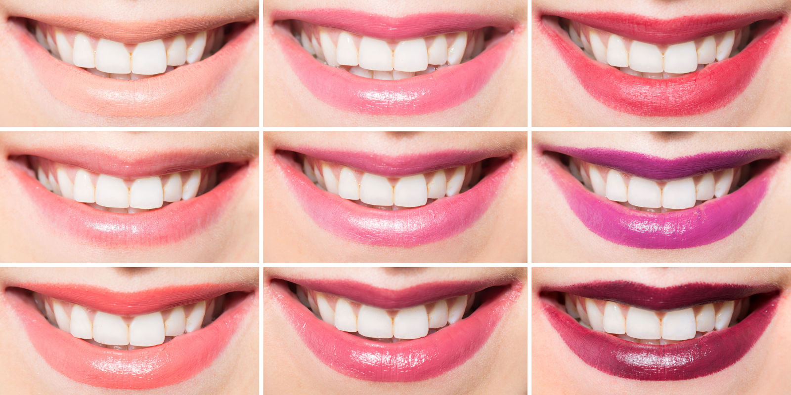 Which Lipstick Shades Make Teeth Look Whiter Lipstick