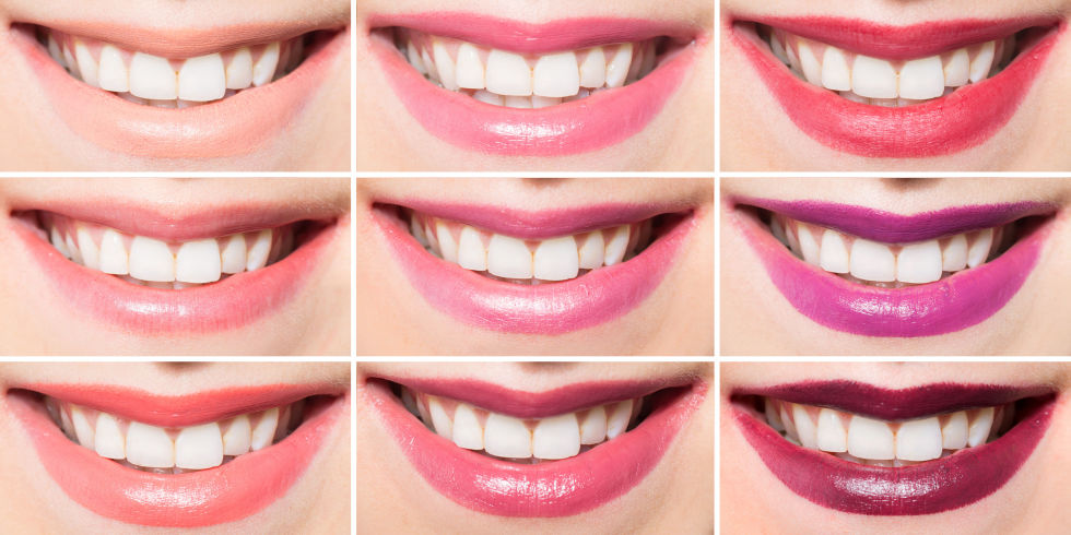 Which Lipstick Shades Make Teeth Look Whiter - Lipstick Colors For ...