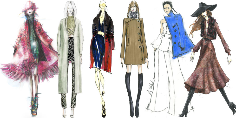 The Making of #NYFW: Designer Sketches and Inspiration