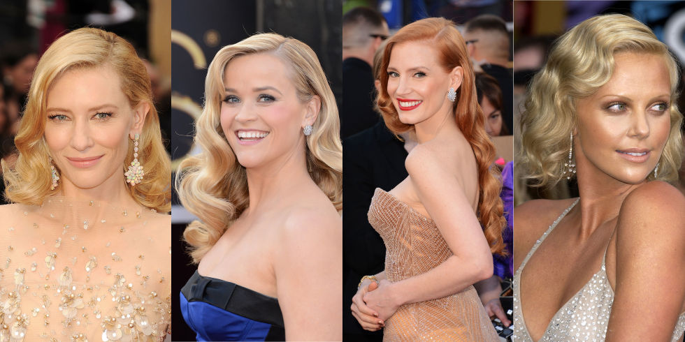 Old Hollywood waves exude the elegance of a true movie star, which may be why so many starlets opt for curls when the Oscars roll around. Whether your locks are long or short, the hairstyle is bound to turn heads.