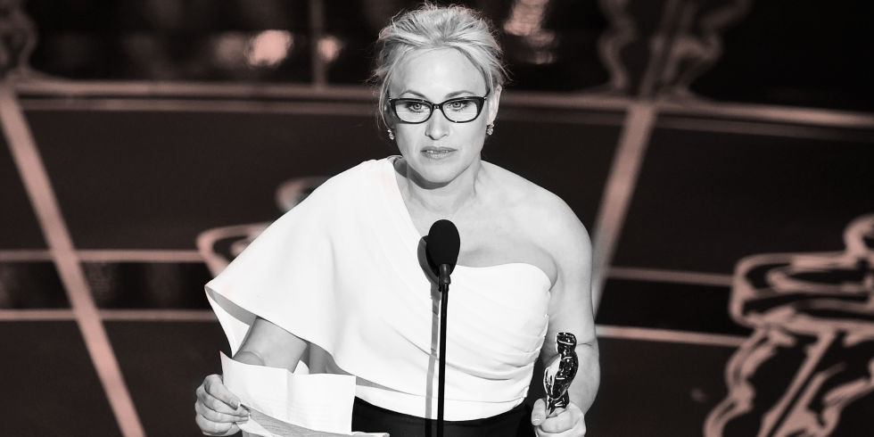 Life Rules: Patricia Arquette Just Made a Rally cry for Women at the OSCARS image
