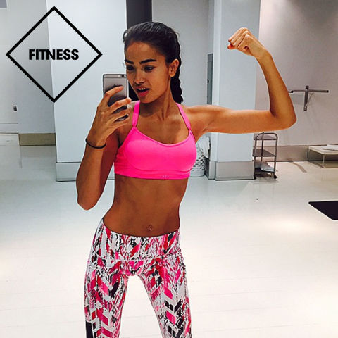 Kelly Gale Food and Fitness Diary - Victoria's Secret Daily Diet and ...