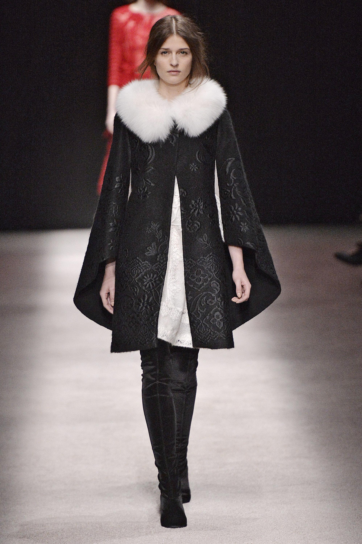Thigh High Boots at Milan Fashion Week