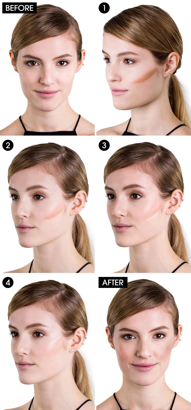 How to Define Cheekbones - Get Defined Cheekbones in Four Easy Steps