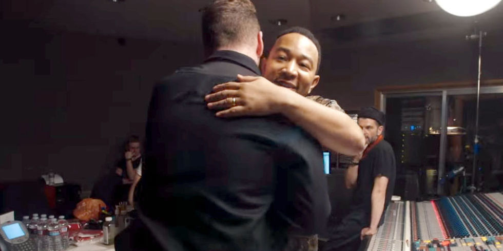 """This Sam Smith and John Legend Duet of """"Lay Me Down"""" Will Make You Feel Things"""