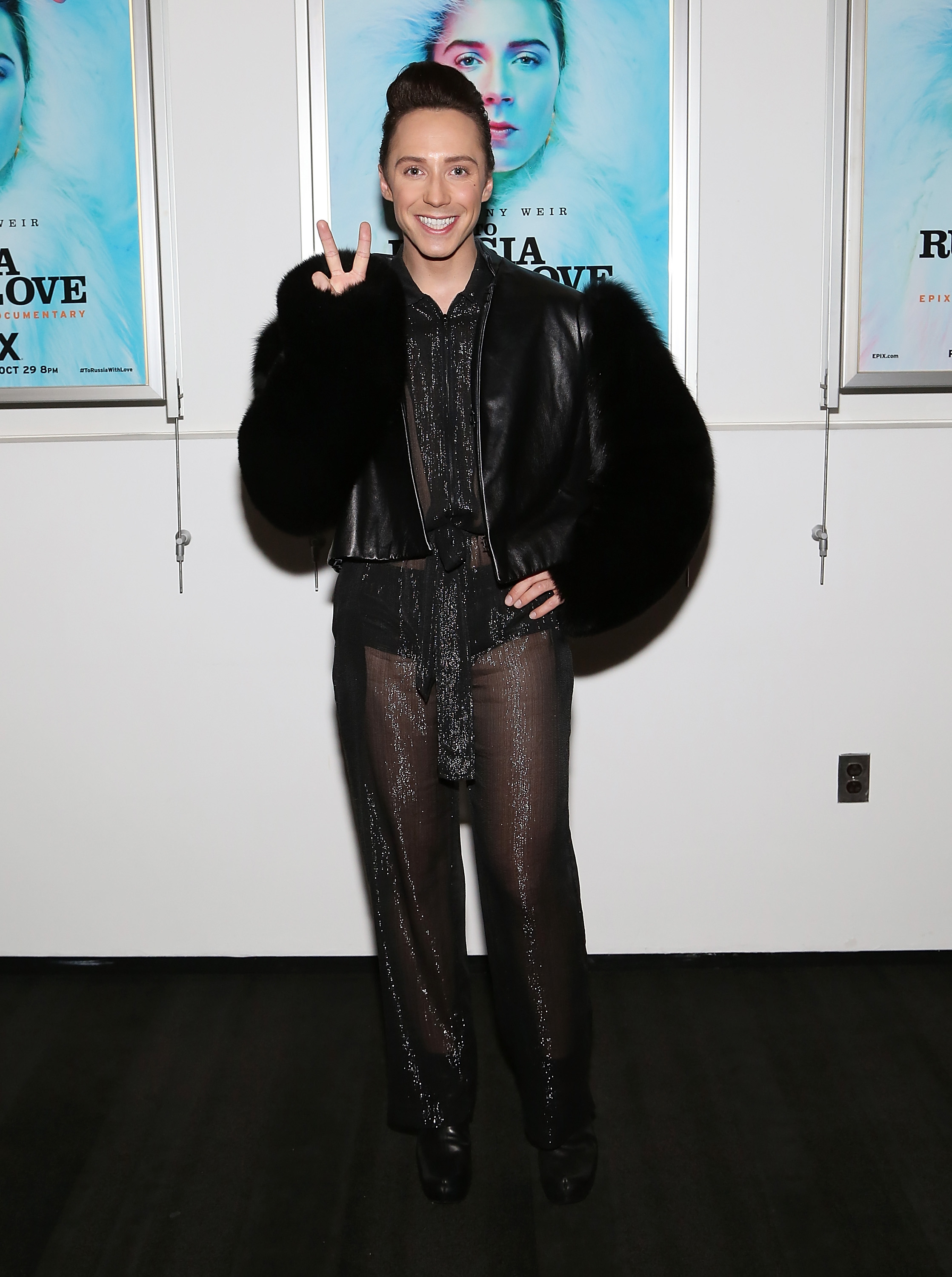 johnny weir has to sell his clothes on ebay to escape