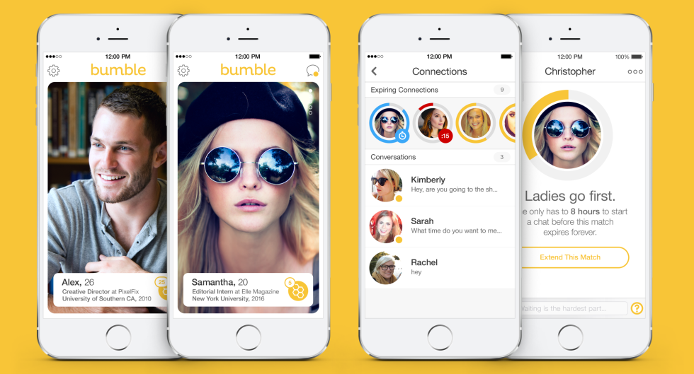 dating apps like tinder and bumble apps for women