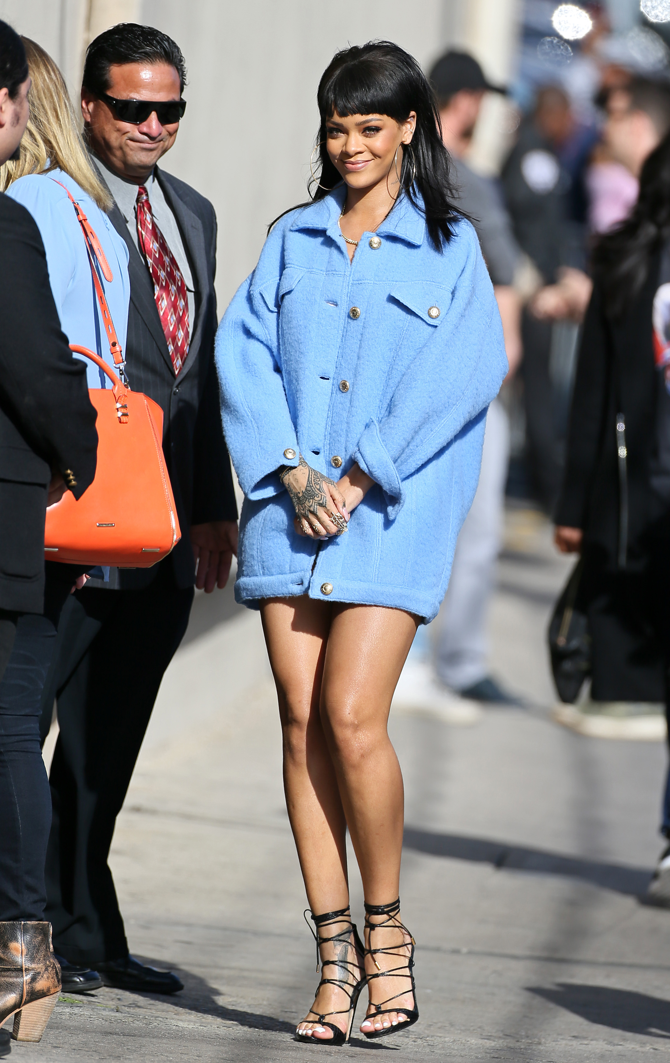 Rihanna Summer Street Style Images Galleries With A Bite