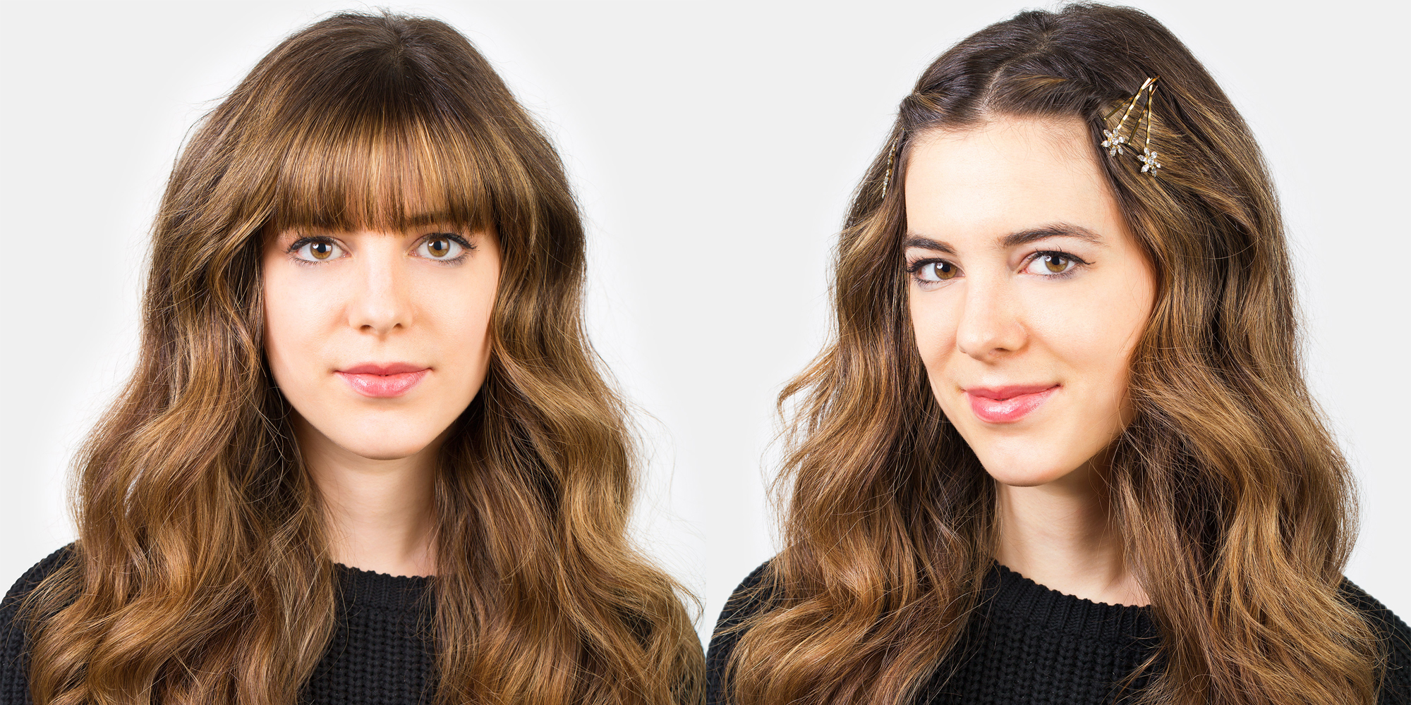 Ways To Style Thin Hair: 5 Hairstyles To Keep Your Bangs Out