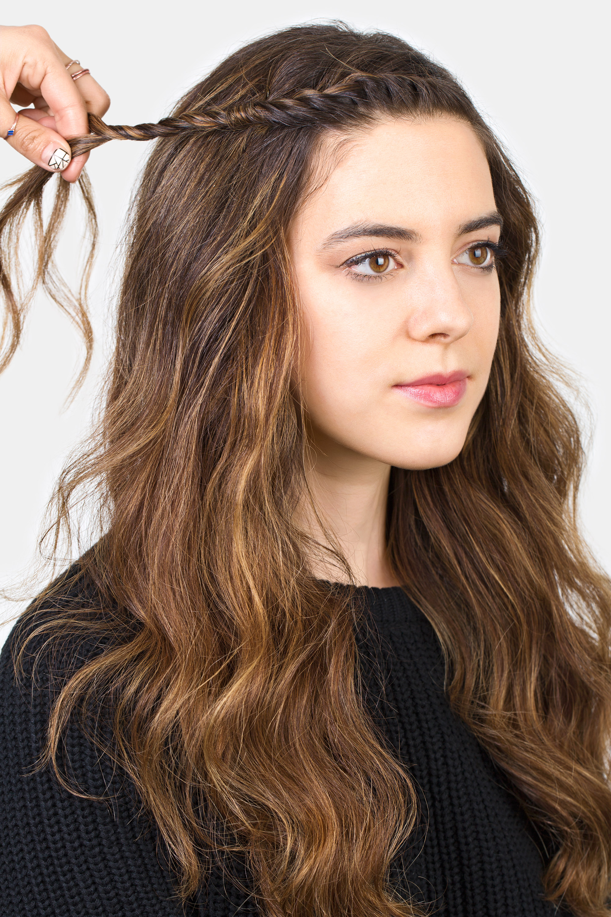 Fabulous How To Style Bangs 5 Hairstyles To Keep Your Bangs Out Of Your Face Short Hairstyles Gunalazisus