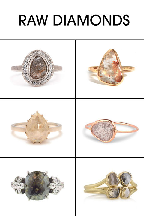 non traditional engagement rings without diamonds - Wedding Rings Without Diamonds