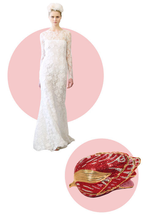 6 Clever Ways to Accessorize Your Wedding Gown