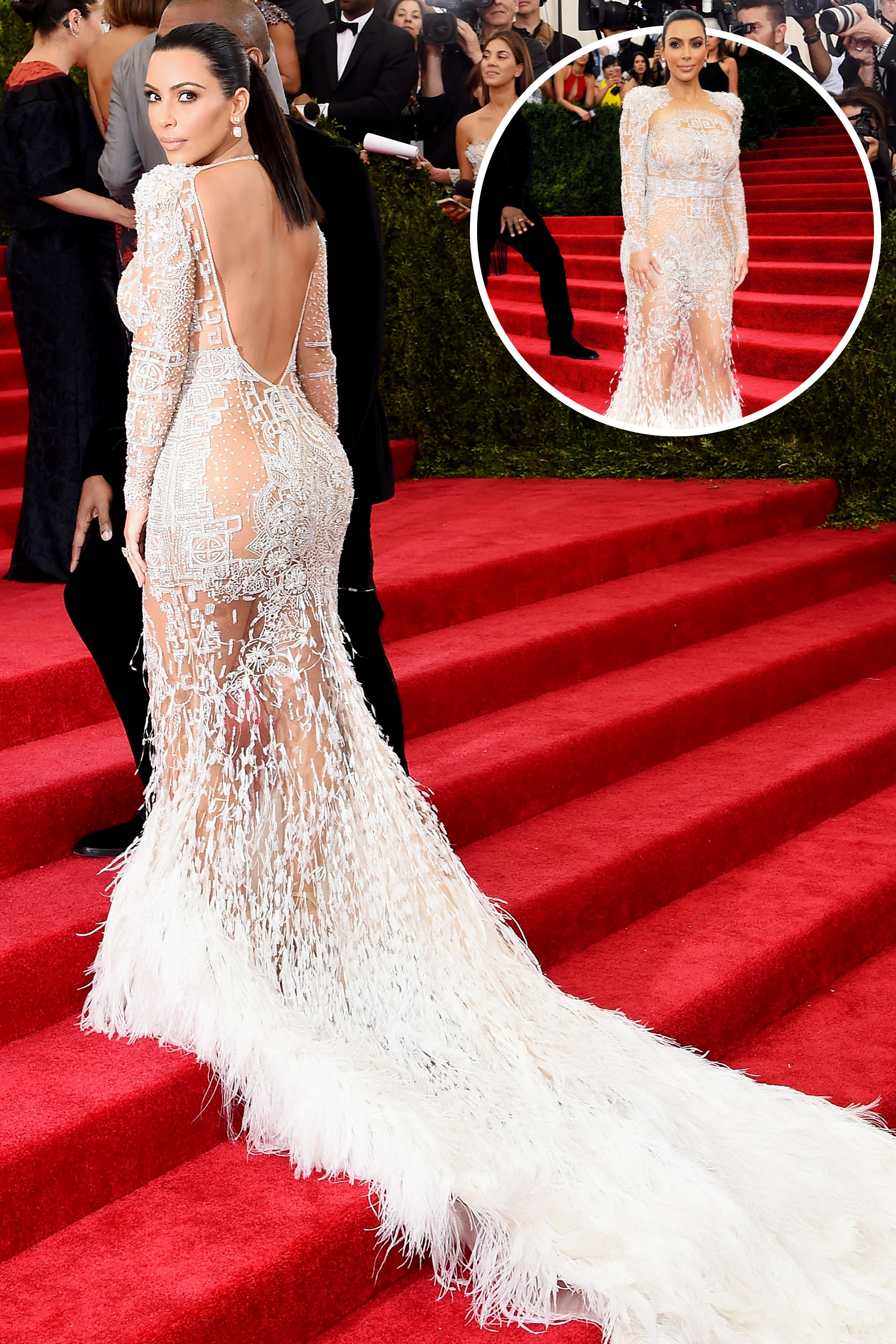 The Best Red Carpet Gowns From the Back - photo #40
