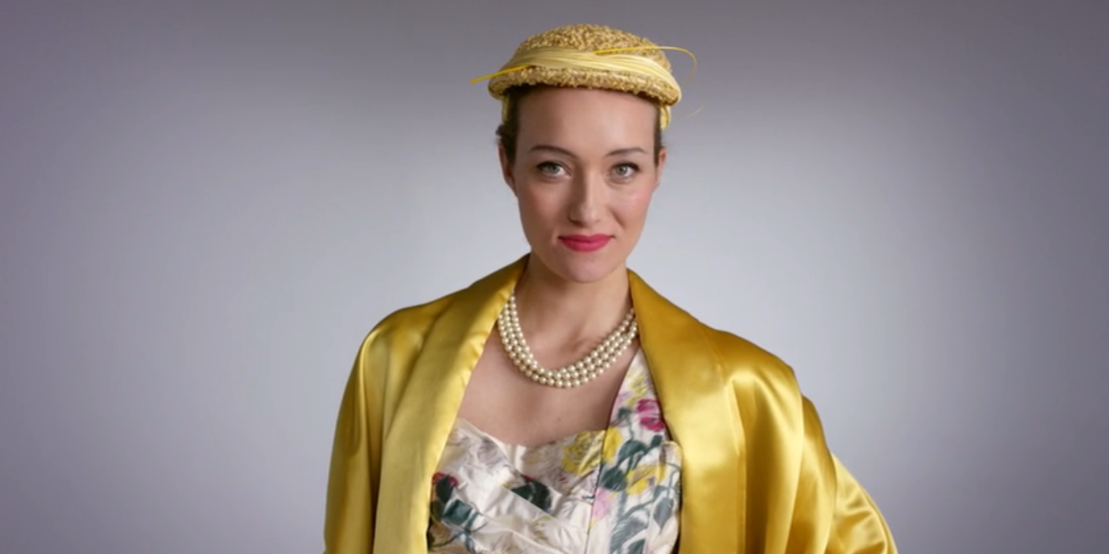 Watch this Woman Model 100 Years of U.S. Fashion in 2 Minutes