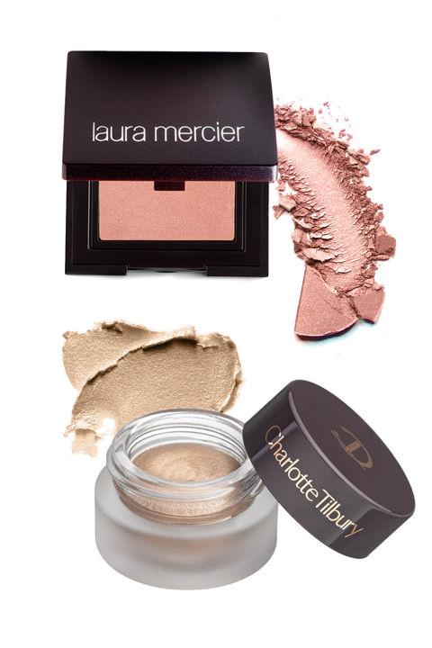 Laura Mercier Sateen Eye Colour in Primrose, $24; Nordstrom.com Charlotte Tilbury Eyes to Mesmerise Cream Eyeshadow in Marie Antoinette, $32; Nordstrom.com