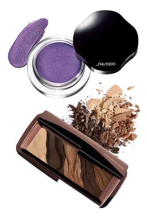 Shiseido Shimmering Cream Eye Color in V1226 Lavande, $25; Nordstrom.com Hourglass Cosmetics Modernist Eyeshadow Palette, $58; Nordstrom.com