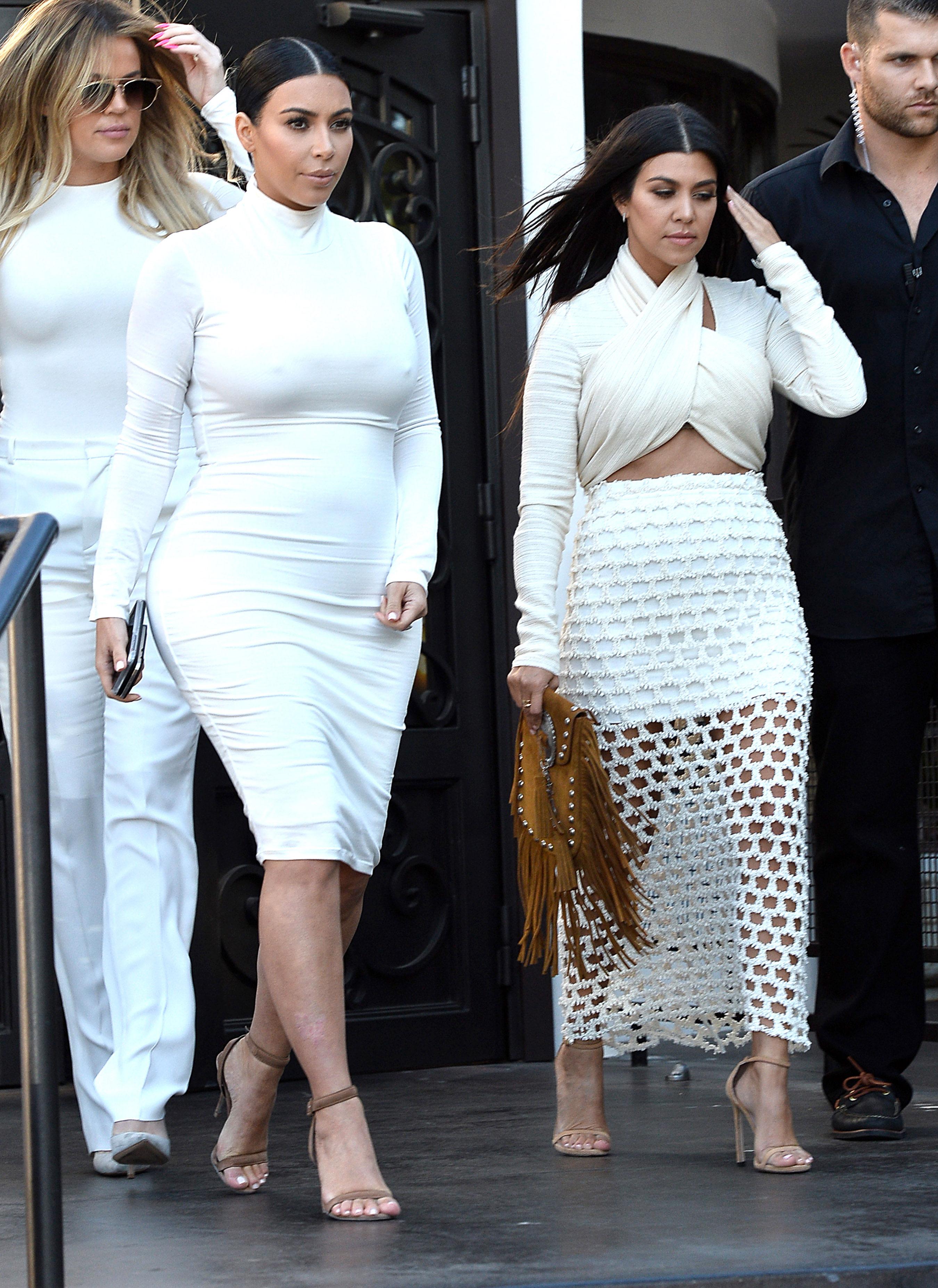 Outfits Kim Kardashian 2016