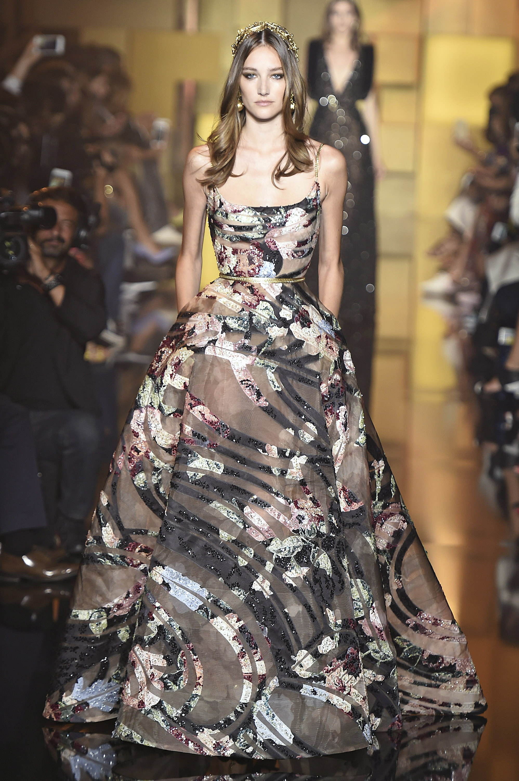Haute Couture Gowns with Sleeves