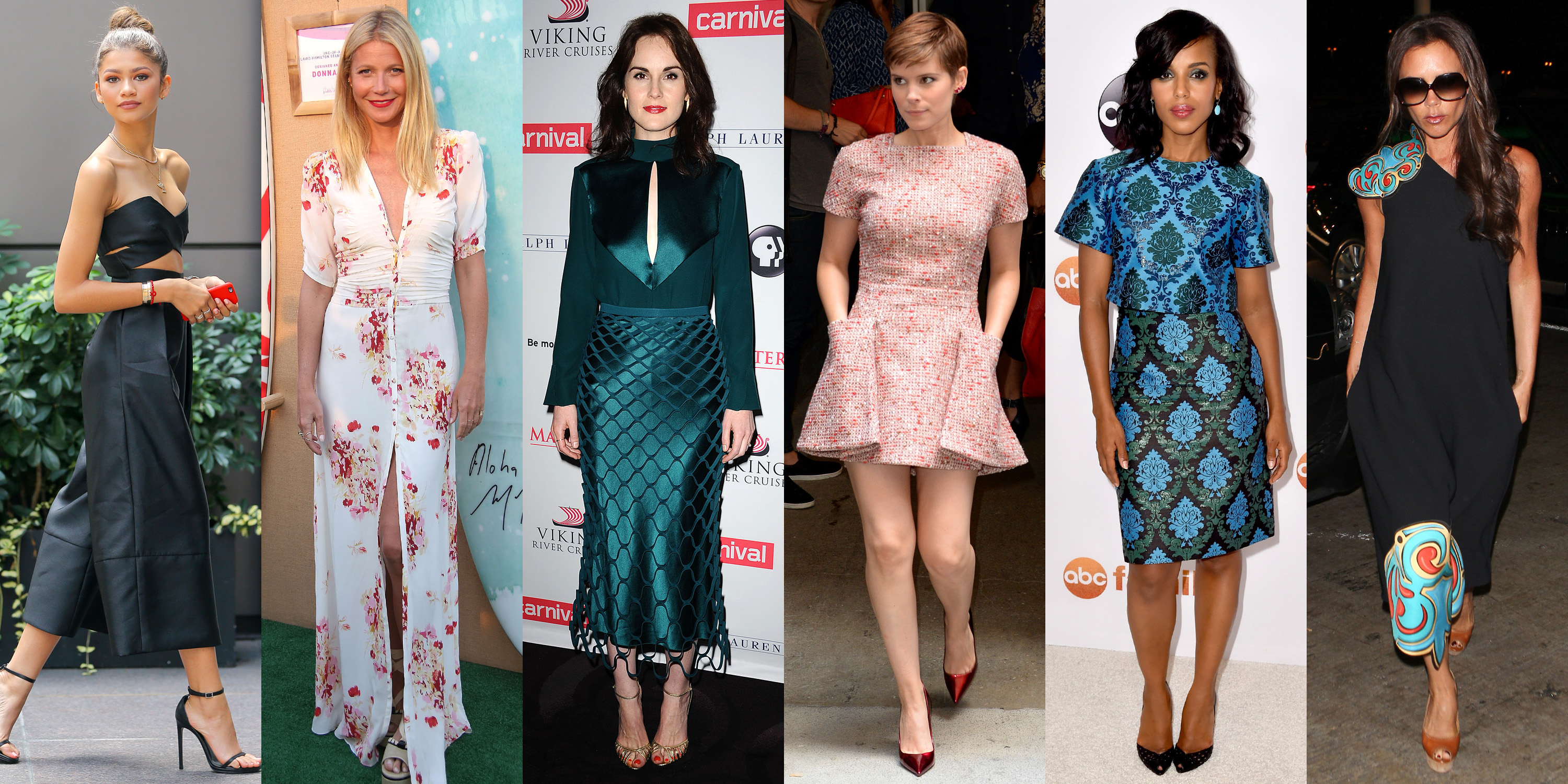 Best Celebrity Fashion, Dresses & Model Style in 2018