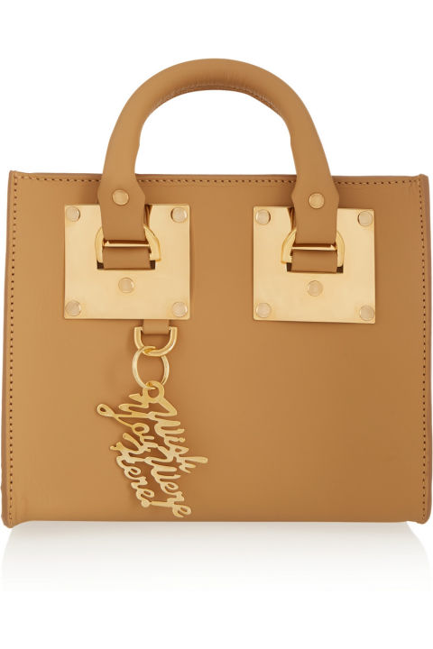 Sophie Hulme Box Leather Shoulder Bag, $595; net-a-porter.com