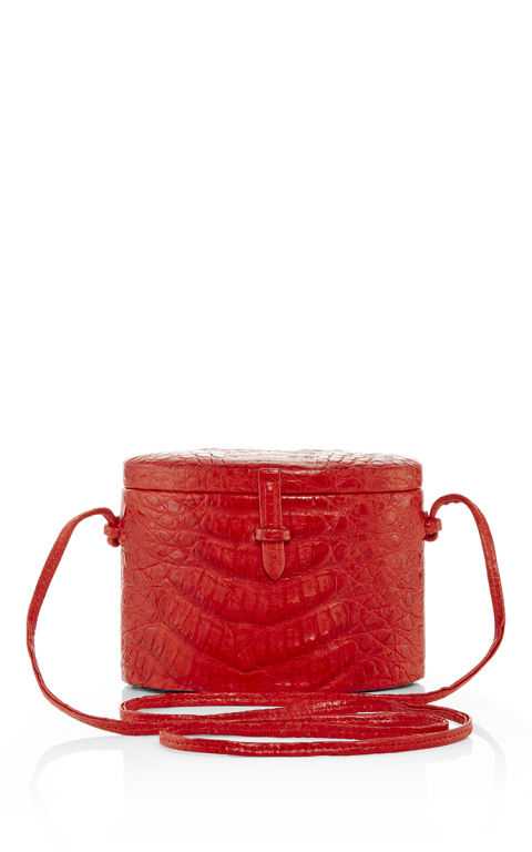Hunting Season Red Crocodile Trunk, $995; modaoperandi.com