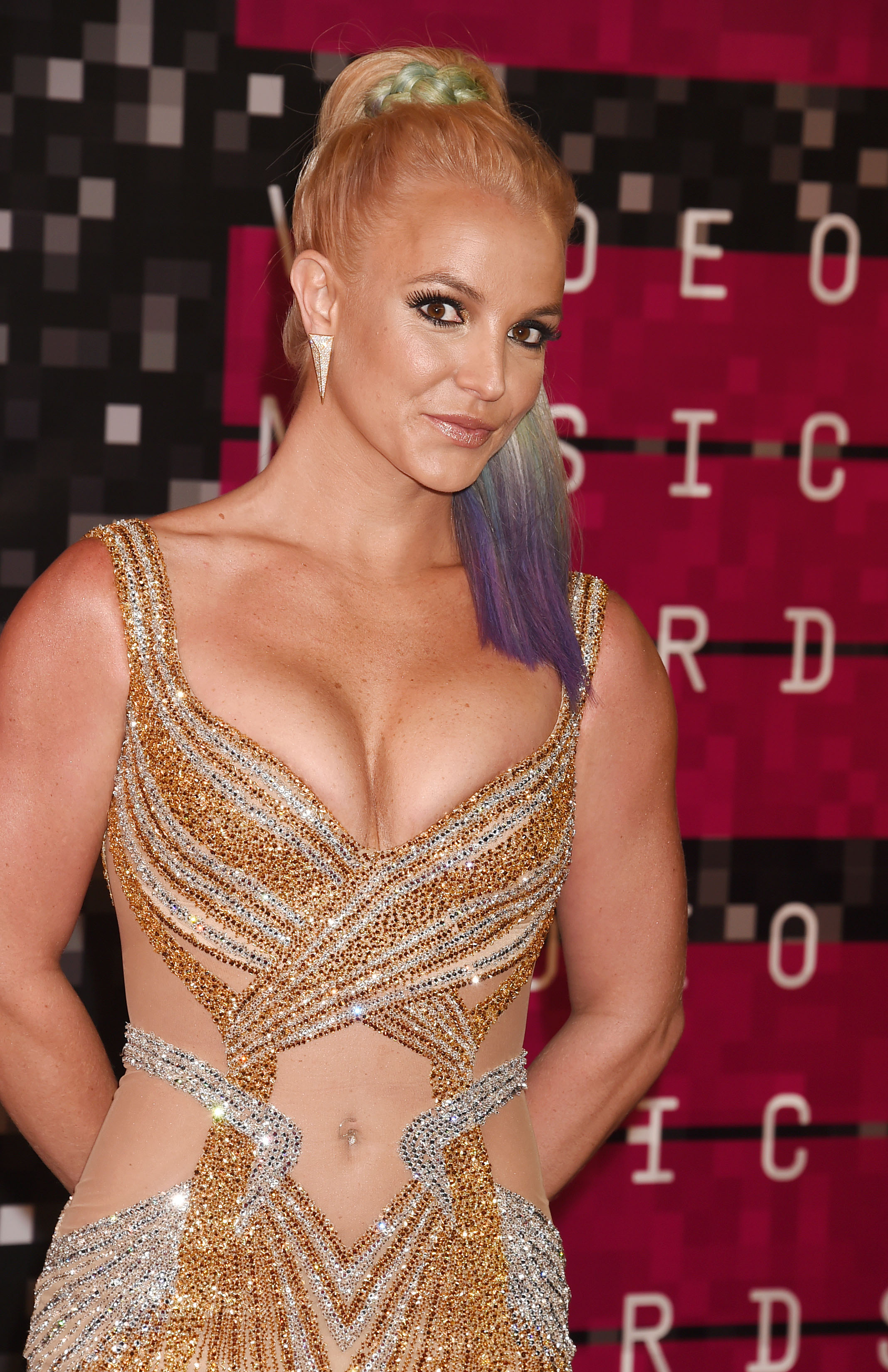 Britney Spears Teaches Dance Class at Rockit Dance Studio