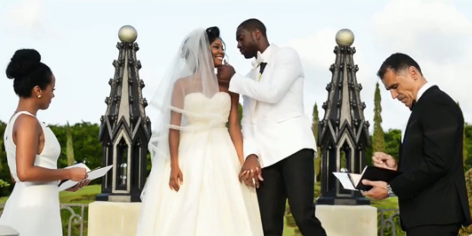 Gabrielle Union and Dwyane Wade Turned Their Wedding Into ...