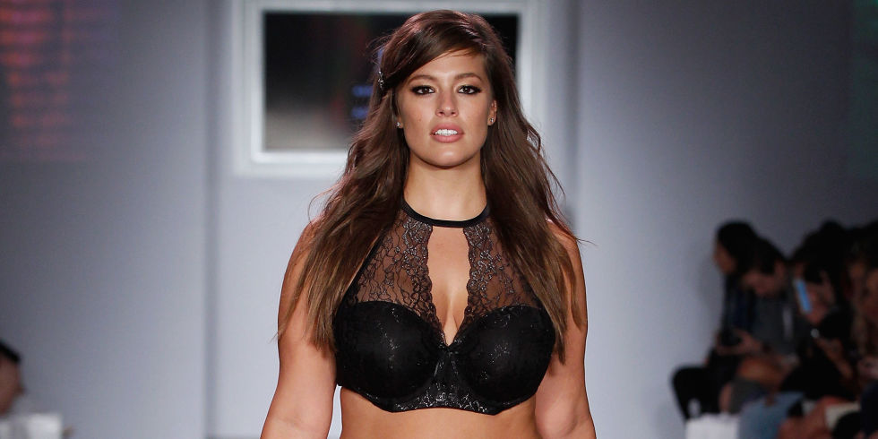 Ashley Graham Plus-Size Model Interview on Addition Elle Lingerie ...
