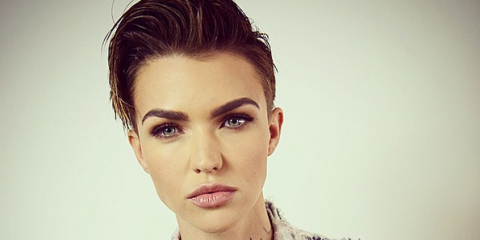Surprising Why Ruby Rose Is Asking Fans Not To Share This Photo Of Her Short Hairstyles For Black Women Fulllsitofus