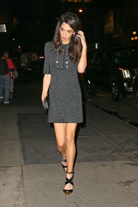 In Balenciaga during a girls' night out in New York City. </p><p>