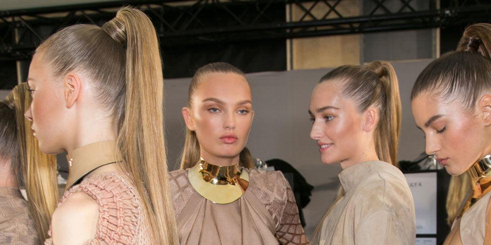 Strange At Balmain Proof That The Ponytail Facelift Is Real Short Hairstyles For Black Women Fulllsitofus