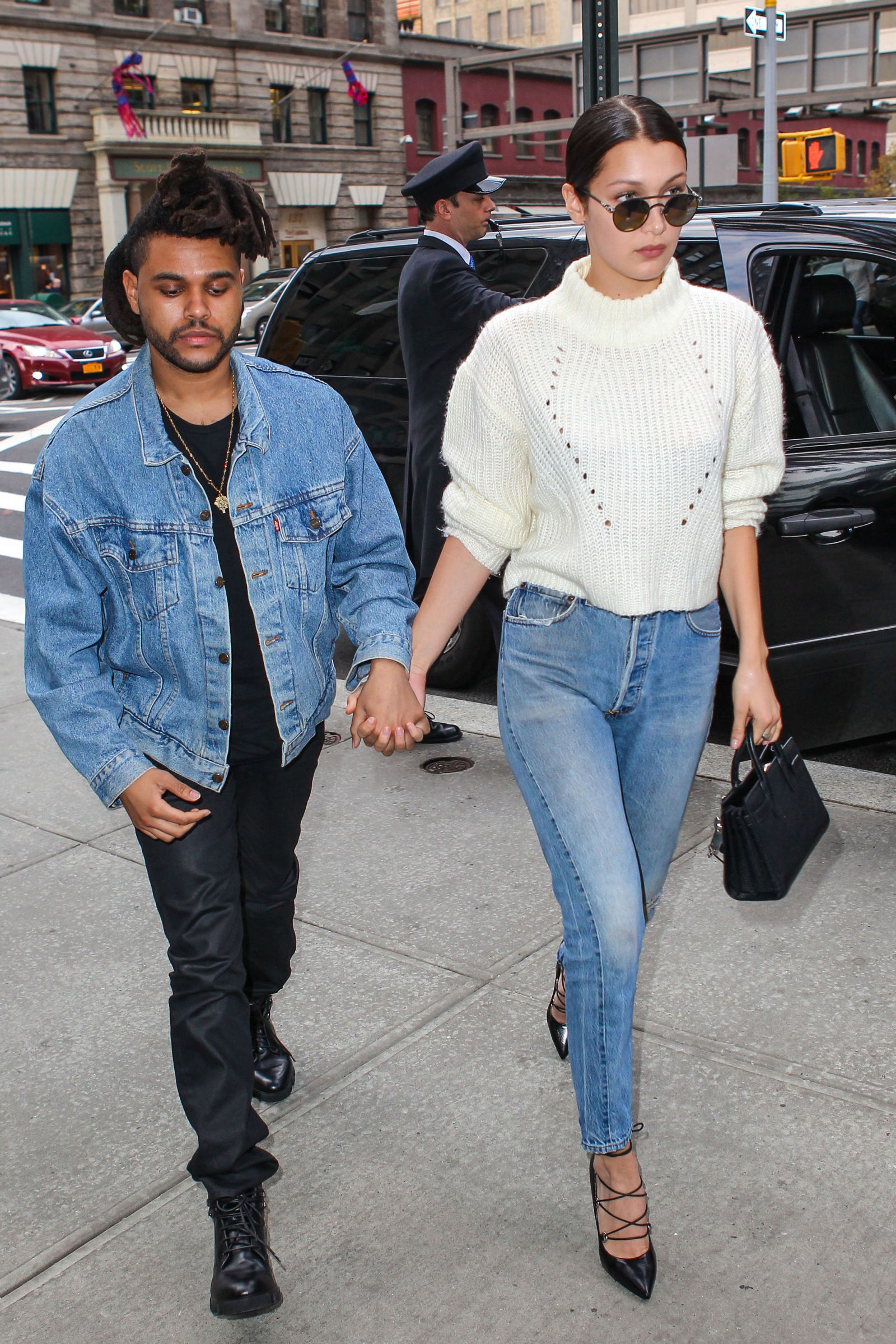 The Weeknd Bella Hadid And New York Fashion On Pinterest