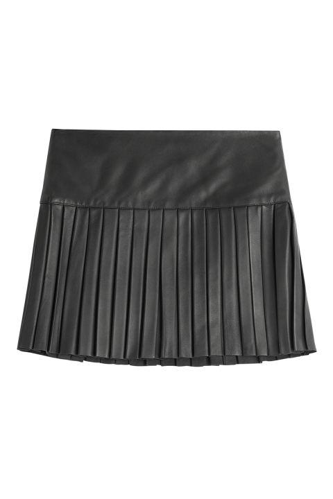15 Pleated Mini Skirts - Best Mini Skirts for Fall - ELLE