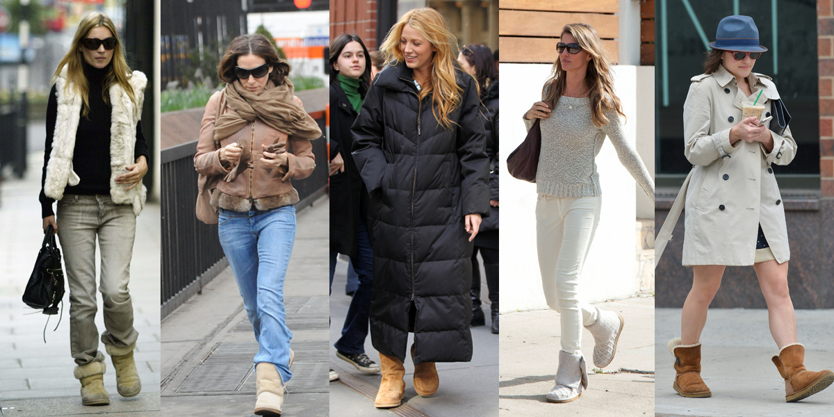 10 Celebrities Get Comfy in UGGs - theFashionSpot