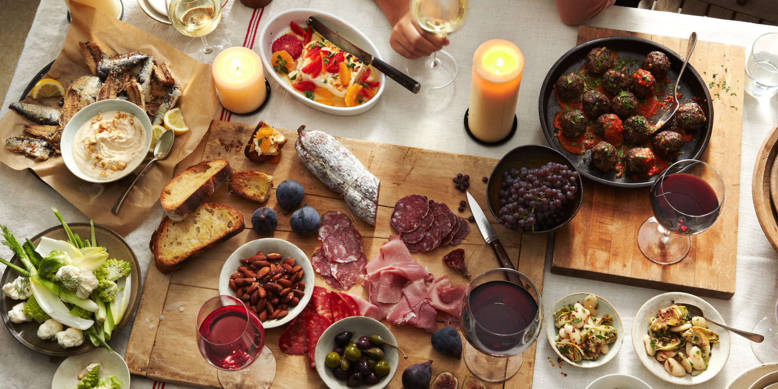 How to host an instagram worthy italian dinner party for Italian meals