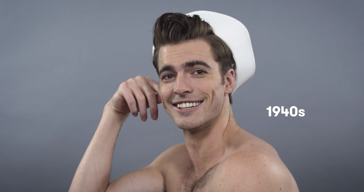 100 Years Of Men S Hairstyles