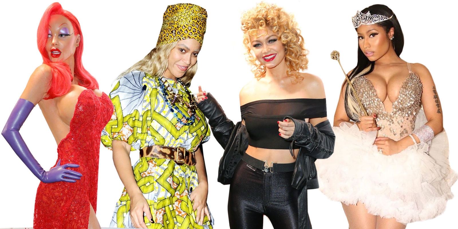 TOP 10 BEST CELEBRITY HALLOWEEN COSTUMES - BEYONCE, JAY …