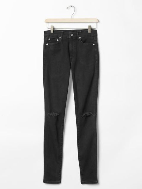Best Black Jeans According to ELLE Editors - Flared and Skinny ...
