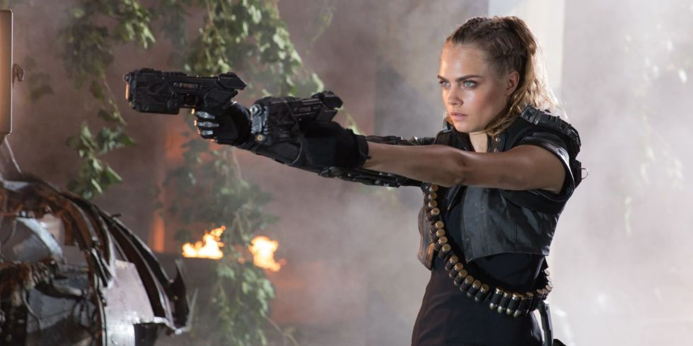 Cara Delevingne in Call of Duty: Black Ops III Trailer - Michael B ...
