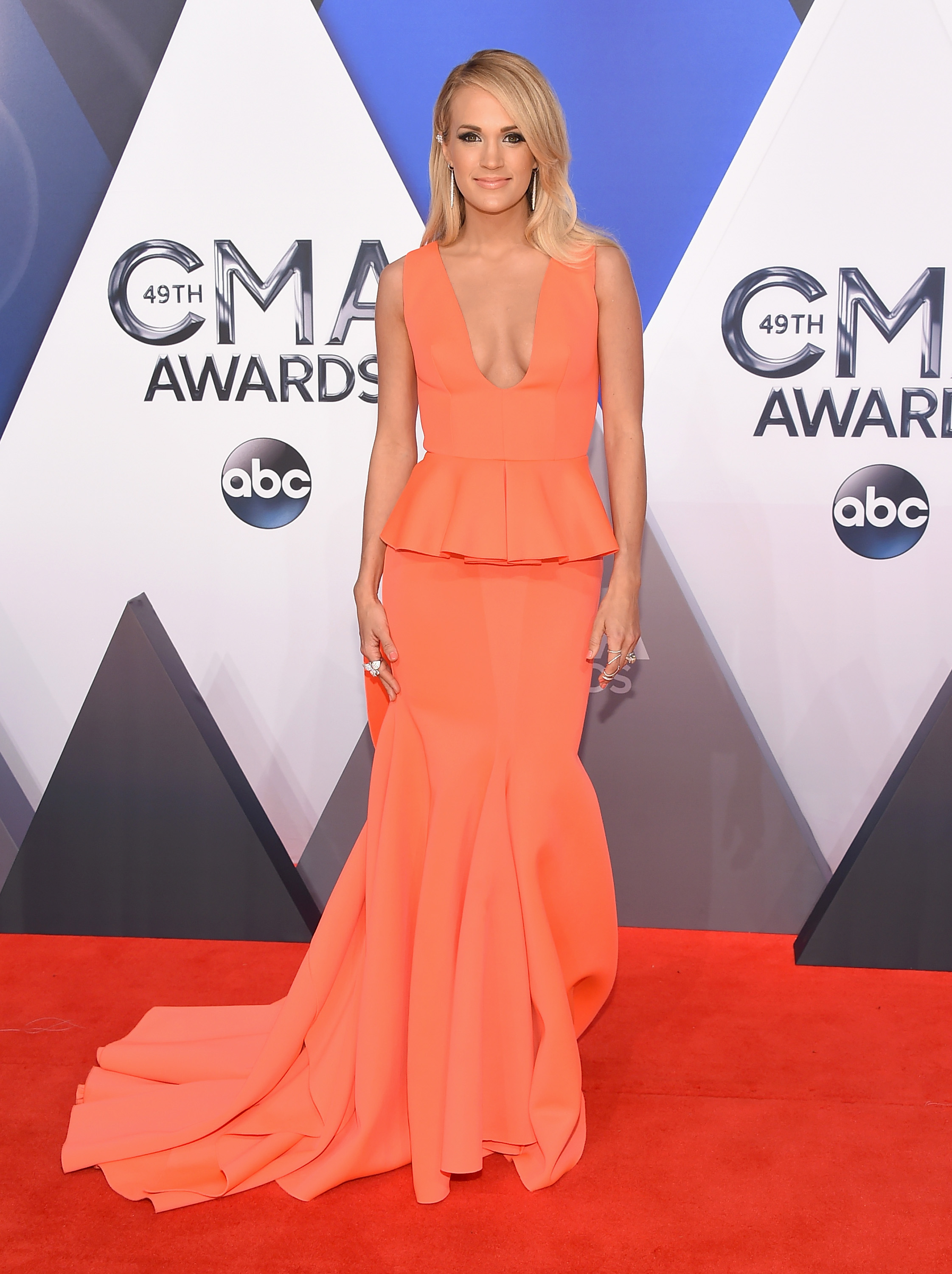 Best Dressed At The Cmas Best Dresses From The Country
