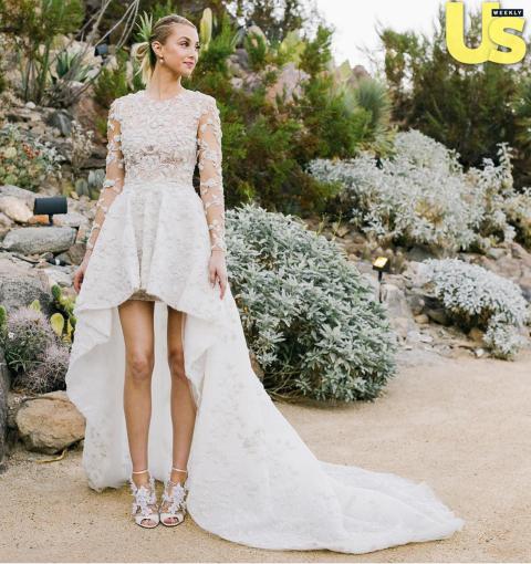 Modern Celebrity Wedding Dresses : Best celebrity wedding dresses the most stunning