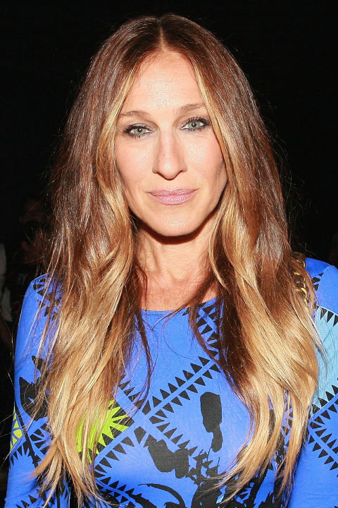 Celebrities Over 40 With Long Hair Celebrities Long Hair