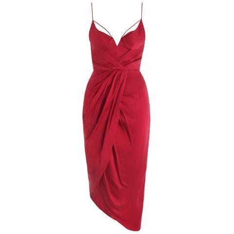 Zimmermann Sueded Baldonette Dress, $480; zimmermannwear.com