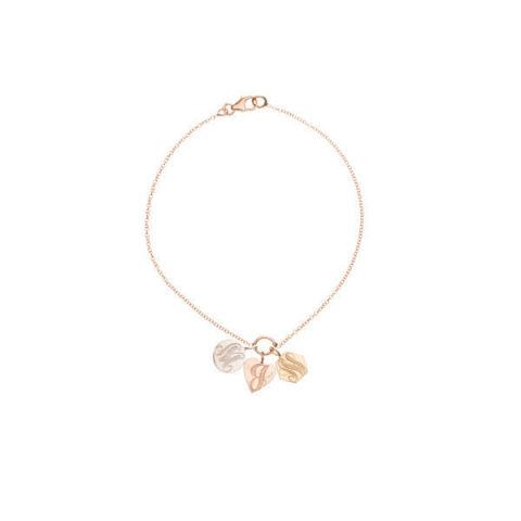 Ariel Gordon Signet Charm Bracelet, $395; arielgordonjewelry.com