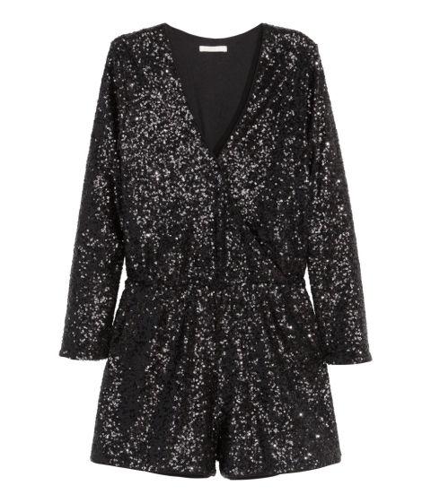 H&M Sequined Jumpsuit, $60; hm.com